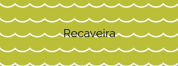 Información de la Playa Recaveira en Porto do Son