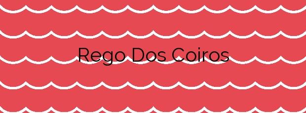 Información de la Playa Rego Dos Coiros en Camariñas