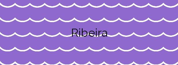 Información de la Playa Ribeira en Baiona