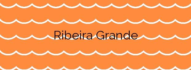 Información de la Playa Ribeira Grande en Ribeira