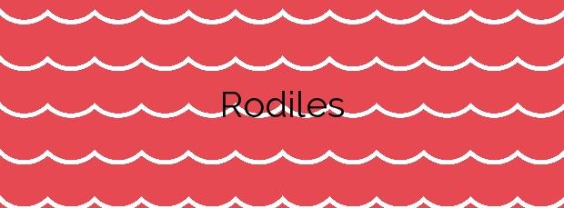 Información de la Playa Rodiles en Villaviciosa
