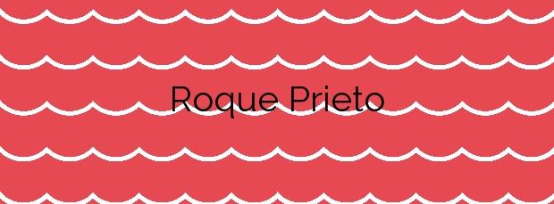 Información de la Playa Roque Prieto en Santa María de Guía de Gran Canaria