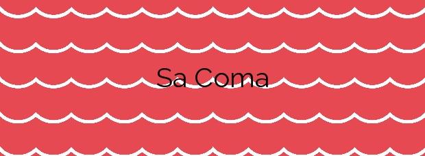 Información de la Playa Sa Coma en Sant Llorenç des Cardassar