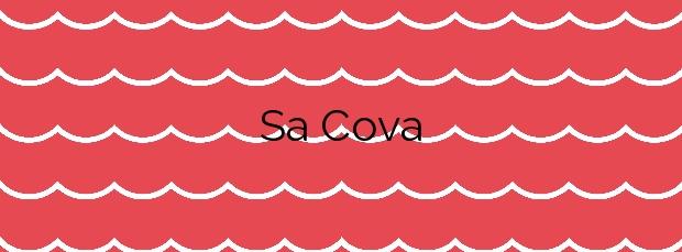 Información de la Playa Sa Cova en Castell-Platja d'Aro