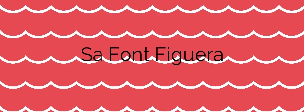 Información de la Playa Sa Font Figuera en Valldemossa