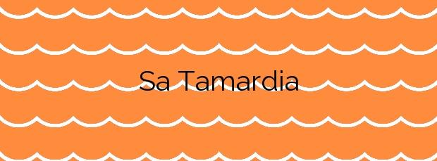 Información de la Playa Sa Tamardia en Palamós