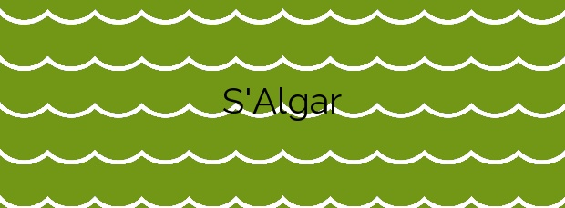 Información de la Playa S'Algar en Andratx