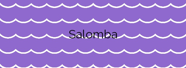 Información de la Playa Salomba en Carnota