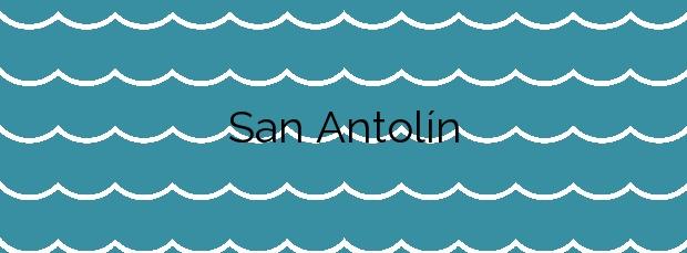 Información de la Playa San Antolín en Llanes