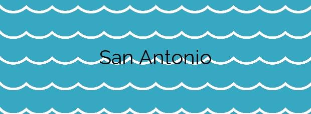 Información de la Playa San Antonio en A Pobra do Caramiñal