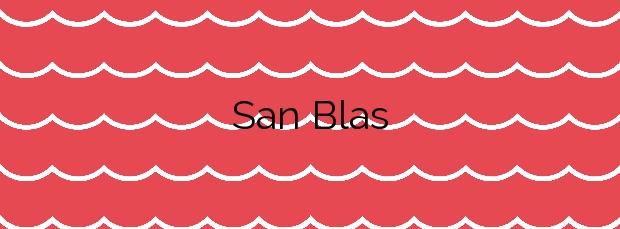 Información de la Playa San Blas en San Miguel de Abona