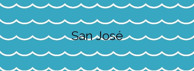 Información de la Playa San José en Níjar