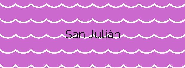 Información de la Playa San Julián en Liendo
