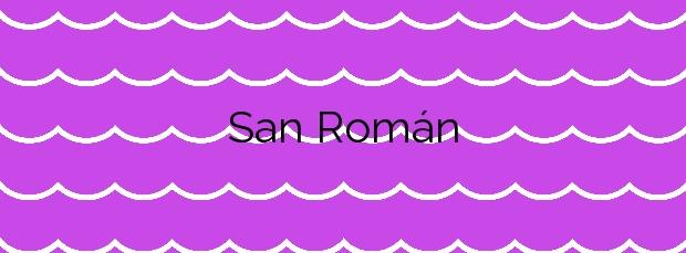 Información de la Playa San Román en Castropol