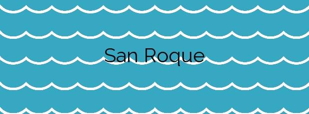 Información de la Playa San Roque en A Coruña