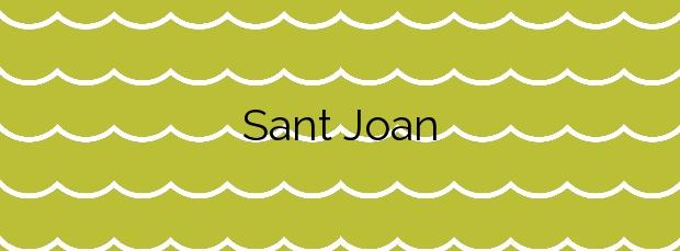 Información de la Playa Sant Joan en Alcúdia