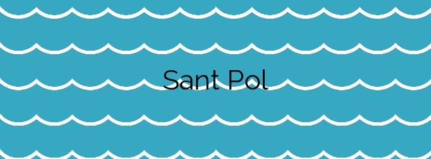 Información de la Playa Sant Pol en Sant Feliu de Guíxols