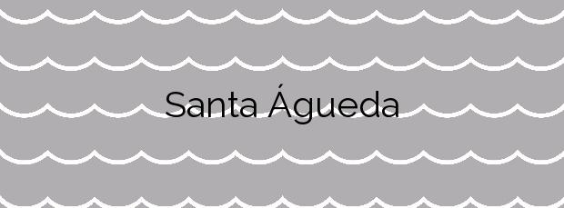 Información de la Playa Santa Águeda en San Bartolomé de Tirajana
