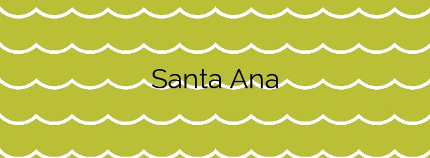 Información de la Playa Santa Ana en Benalmádena