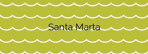 Información de la Playa Santa Marta en Baiona