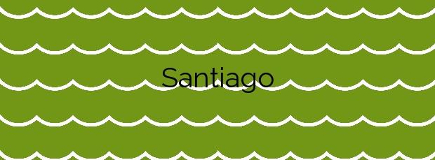 Información de la Playa Santiago en Alajeró