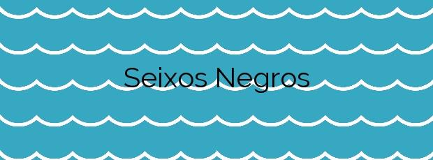 Información de la Playa Seixos Negros en Nigrán