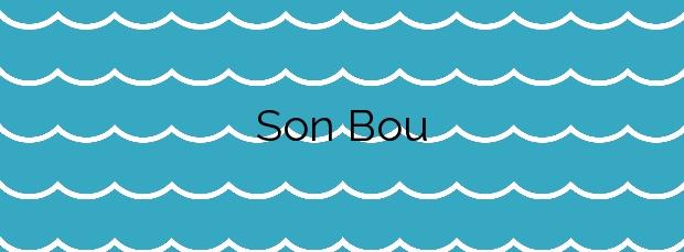 Información de la Playa Son Bou en Alaior