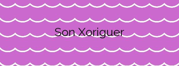 Información de la Playa Son Xoriguer en Ciutadella de Menorca