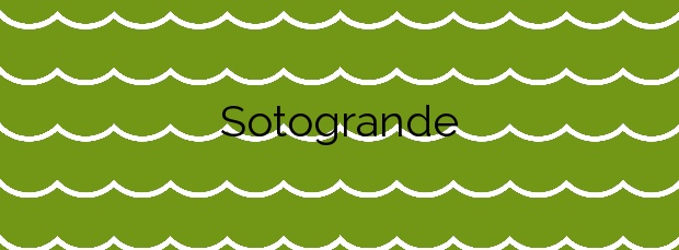 Información de la Playa Sotogrande en San Roque
