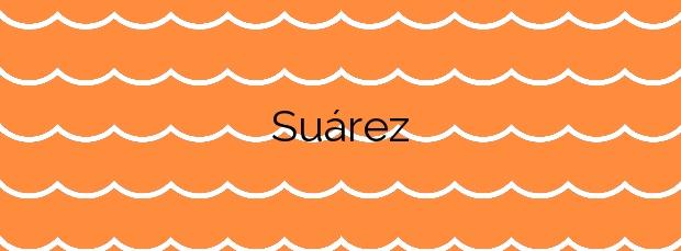 Información de la Playa Suárez en San Sebastián de la Gomera