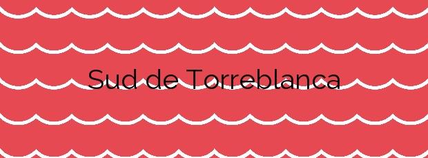 Información de la Playa Sud de Torreblanca en Torreblanca