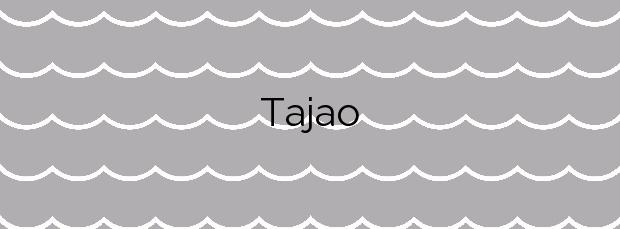 Información de la Playa Tajao en Arico