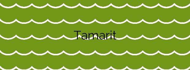 Información de la Playa Tamarit en Tarragona