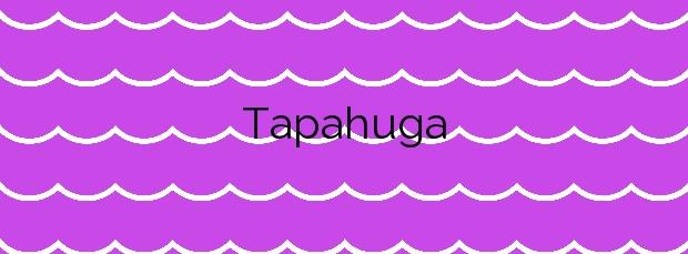 Información de la Playa Tapahuga en San Sebastián de la Gomera