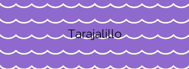 Información de la Playa Tarajalillo en San Bartolomé de Tirajana