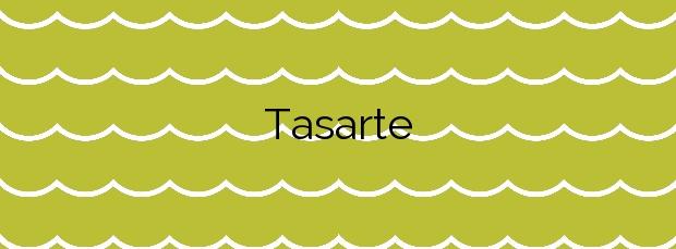 Información de la Playa Tasarte en La Aldea de San Nicolás