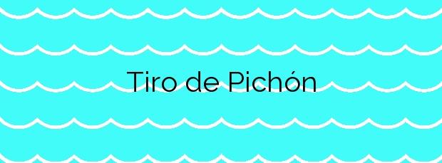 Información de la Playa Tiro de Pichón en San Javier