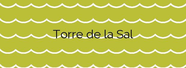 Información de la Playa Torre de la Sal en Cabanes