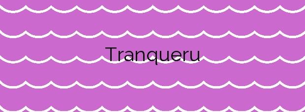 Información de la Playa Tranqueru en Carreño