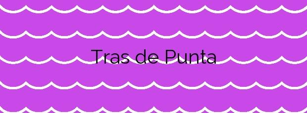 Información de la Playa Tras de Punta en Carnota
