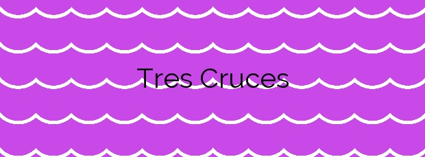 Información de la Playa Tres Cruces en Rianxo