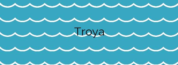 Información de la Playa Troya en Arona