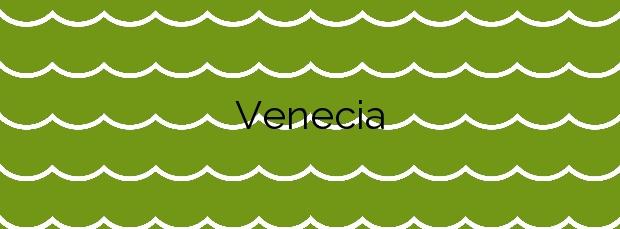 Información de la Playa Venecia en Gandia