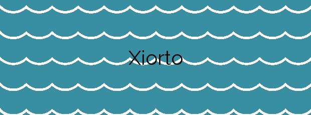 Información de la Playa Xiorto en Poio