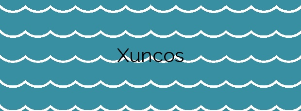 Información de la Playa Xuncos en Foz