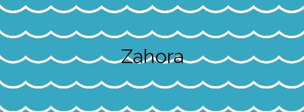 Información de la Playa Zahora en Barbate