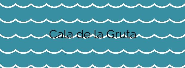 Información de la Cala de la Gruta en Lorca