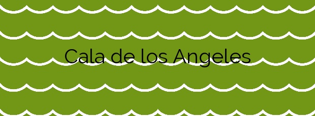 Información de la Cala de los Angeles en Mont-roig del Camp
