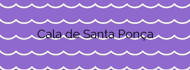 Información de la Cala de Santa Ponça en Calvià