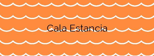 Información de la Cala Estancia en Palma de Mallorca